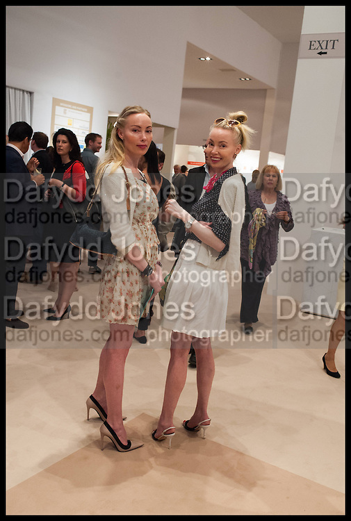 MIA FAHLER; EVA FAHLER, Masterpiece London 2014 Preview. The Royal Hospital, Chelsea. London. 25 June 2014.