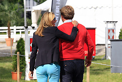 Sven and Gonnelien Rothenberger<br /> FEI European Championship Juniors - Bern 2012<br /> © Hippo Foto - Leanjo de Koster
