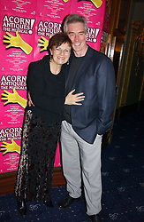 Actress JULIE WALTERS and her husband GRANT ROFFEY at an after show party following the opening night of Acorn Antiques - The Musical at The Theatre Royal, Haymarket and held at The Cafe de Paris, Coventry Street, London on 10th February 2005.<br />