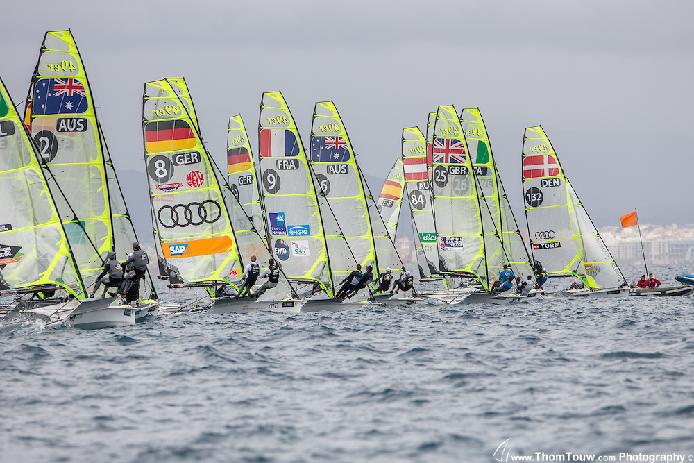 Sailing Regattas in Olympic Classes, Copyright Thom Touw Photography