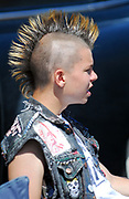 Punk with a mohican. 2006