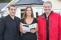 Ryan McKenna , Galway, Linda O'Hea Craughwell and Liam Caffrey Galway at the Launch of the SCCUL Sanctuary at Kilcuan, Clarinbridge .<br /> Photo:Andrew Downes