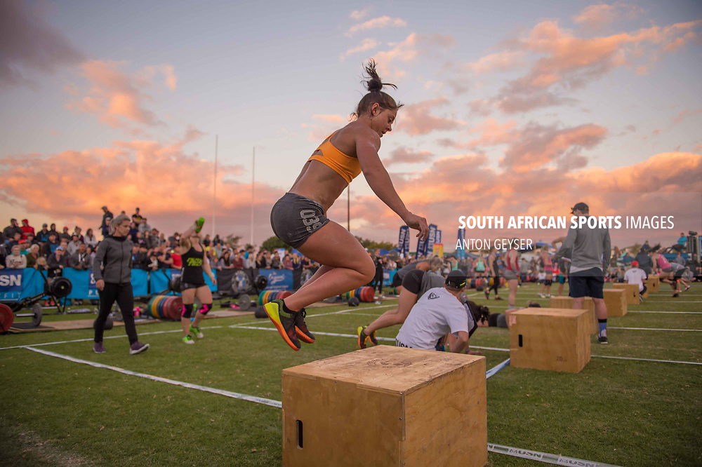 PRETORIA, SOUTH AFRICA - APRIL 29:  During the women's Final WOD at the Pretoria Throw Down in Waterkloof High School on April 29, 2017 in Pretoria, South Africa. (Photo by Anton Geyser/Gallo Images)