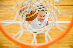 Damjan Sebjan of Slovenian Deaf Basketball team at media day, on June 13, 2016 in GIB Centre, Ljubljana, Slovenia. Photo by Vid Ponikvar / Sportida