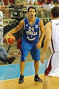 LETTONIA  QUALIFICAZIONI EUROPEE 2011<br /> RIGA 05.08.2010<br /> PARTITA LETTONIA ITALIA <br /> NELLA FOTO ANTONIO MAESTRANZI