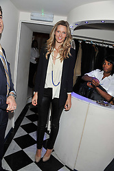 OLIVIA HUNT at a reception hosted by Beulah London and the United Nations to launch Beulah London's AW'11 Collection 'Clothed in Love' and the Beulah Blue Heart Campaign held at Dorsia, 3 Cromwell Road, London SW7 on 18th October 2011.