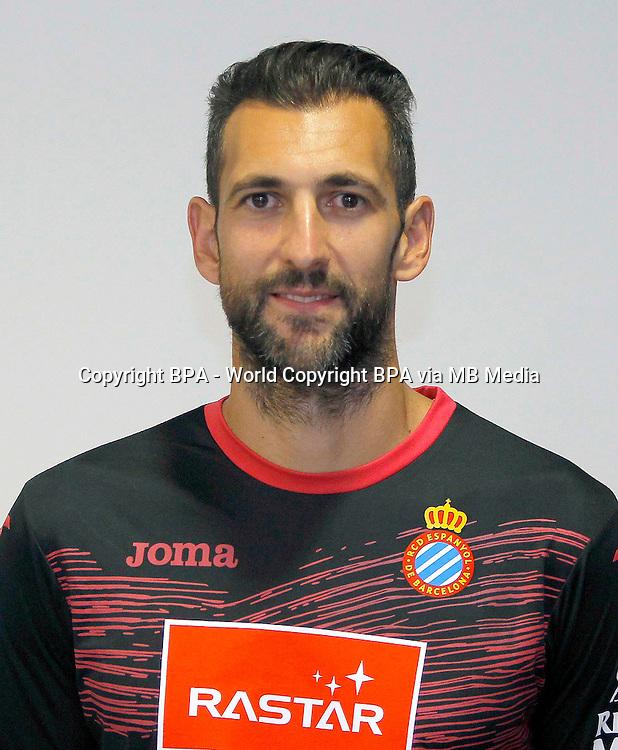 Spain - La Liga Santander 2016-2017 / <br /> ( R.C.D. Espanyol ) - <br /> Diego Lopez Rodriguez &quot; Diego Lopez &quot;