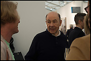 GRAYSON PERRY; ANTONY D'OFFAY, Opening of Frieze art Fair. London. 14 October 2014