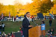 Barack Obama at a Rally in Leesburg, VA 10/22/2008