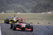 Artem Petrov leads Brendon Leitch.<br /> NZ Motor Cup race, Castrol Toyota Racing Series at Hampton Downs on Sunday January 27 2019.<br /> Copyright photo: Bruce Jenkins / www.photosport.nz