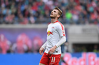 FUSSBALL  1. BUNDESLIGA  SAISON 2018/2019  33. SPIELTAG  RB Leipzig - FC Bayern Muenchen                    11.05.2019 Timo Werner (RB Leipzig) nachdenklich ----DFL regulations prohibit any use of photographs as image sequences and/or quasi-video.----