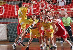 Mirsad Terzic,  at 15th round of Slovenian Handball MIK 1st league match between RD Slovan and RK Celje Pivovarna Lasko, on February 6, 2009, in Kodeljevo, Ljubljana, Slovenia. Win of RK Slovan 18:17. (Photo by Vid Ponikvar / Sportida)