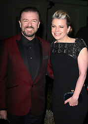 RICKY GERVAIS during Night of Heroes: The Sun Military Awards held at the Imperial War Museum, London, England, December 6, 2012. Photo by i-Images.