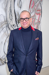 TOUKER SULEYMAN at the opening of the exhibition Champagne Life in celebration of 30 years of The Saatchi Gallery, held on 12th January 2016 at The Saatchi Gallery, Duke Of York's HQ, King's Rd, London.