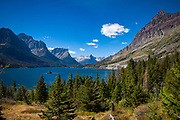 Saint Mary Lake, Going to the Sun Road