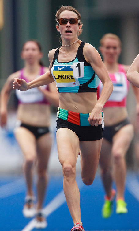 Toronto, Ontario ---10-07-31--- Malindi Elmore competes in the 1500 metres at the 2010 Canadian Track and Field Championships in Toronto, Ontario July 31, 2010.<br />  GEOFF ROBINS/Mundo Sport Images