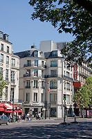 boulevard de la madeleine, Paris France in May 2008