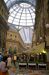 Indoor Shopping Mall, Milan, Italy