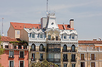 buildings around plaza de oriente madrid