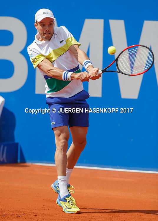 ROBERTO BAUTISTA AGUT (ESP)<br /> <br /> Tennis - BMW Open2017 -  ATP  -  MTTC Iphitos - Munich -  - Germany  - 3 May 2017.