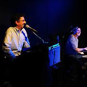 Host Bob Lord and Buffalo Tom drummer Tom Maginnis