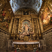 The 16th century Igreja de São Roque was one of the earliest Jesuit churches in Christendom and features a series of ornately decorated Baroque chapels.