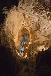 Interior cave formations, Big Room / Hall of Giants, Carlsbad Caverns National Park, New Mexico, United States of America