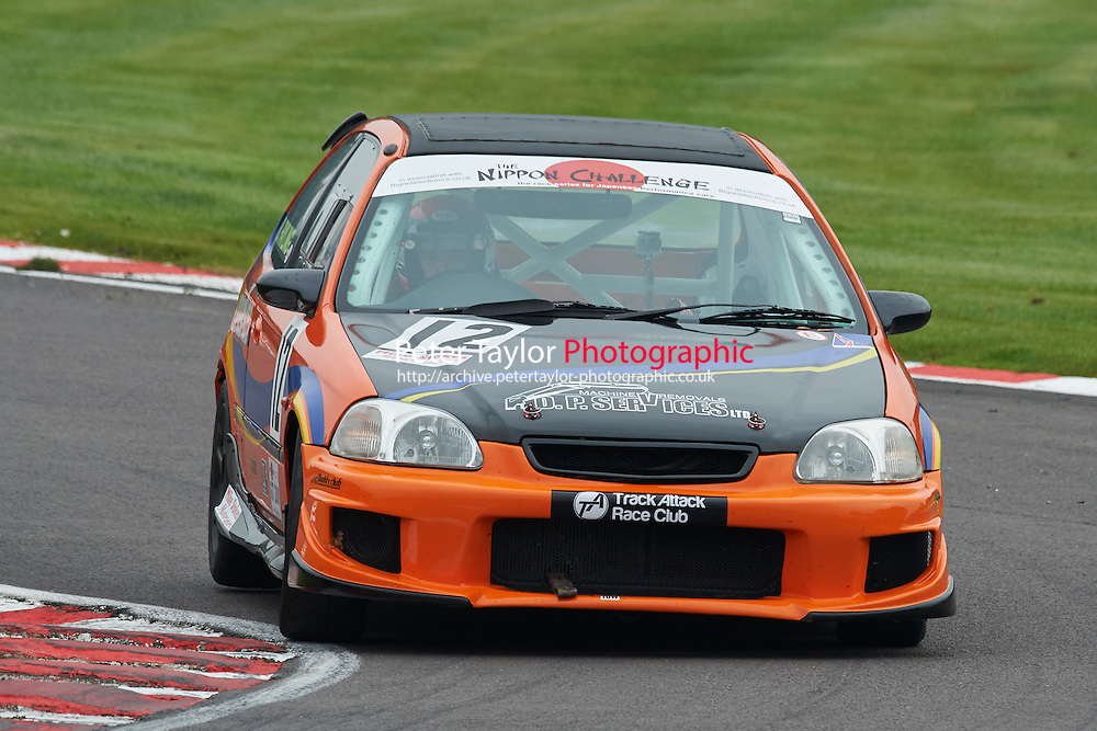 #12 David PAYLING Honda Civic EK during Nippon Challenge / Youririshshop.com MR2 Racing Series - Race 1  as part of the BARC Championships Race Day at Oulton Park, Little Budworth, Cheshire, United Kingdom. October 03 2015. World Copyright Taylor/PSP. Copy of publication required for printed pictures.  Every used picture is fee-liable. http://archive.petertaylor-photographic.co.uk