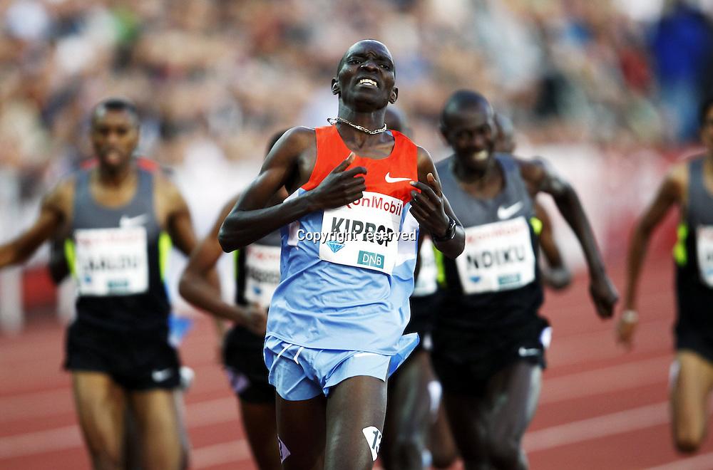 07.06.2012. Paris, France.   Diamond League Bislett Games Asbel Kiprop Ken Dream Mile  Athletics