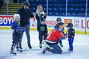 KELOWNA, CANADA - FEBRUARY 18:  Carsen Twarynski #18 of the Kelowna Rockets at the BCAA Family Skate with the Kelowna Rockets on February 18, 2018 at Prospera Place in Kelowna, British Columbia, Canada.  (Photo By Cindy Rogers/Nyasa Photography,  *** Local Caption ***