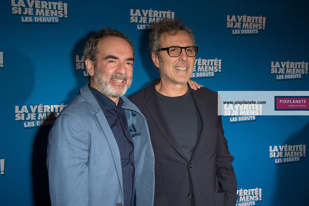 Bruno Solo - Gilbert Melki Avant première du film La vérité si je mens les débuts Mardi 15 Octobre 2019 Le Grand Rex Paris