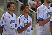 DESCRIZIONE : Porec Amichevole Croazia Italia<br /> GIOCATORE : massimo chessa<br /> CATEGORIA : inno nazionale<br /> SQUADRA : Nazionale Italia Maschile<br /> EVENTO : Amichevole Italia Croazia<br /> GARA : Italia Croazia<br /> DATA : 09/08/2012<br /> SPORT : Pallacanestro<br /> AUTORE : Agenzia Ciamillo-Castoria/C.De Massis<br /> Galleria : FIP Nazionali 2012<br /> Fotonotizia :  Trieste Amichevole Croazia Italia<br /> Predefinita :