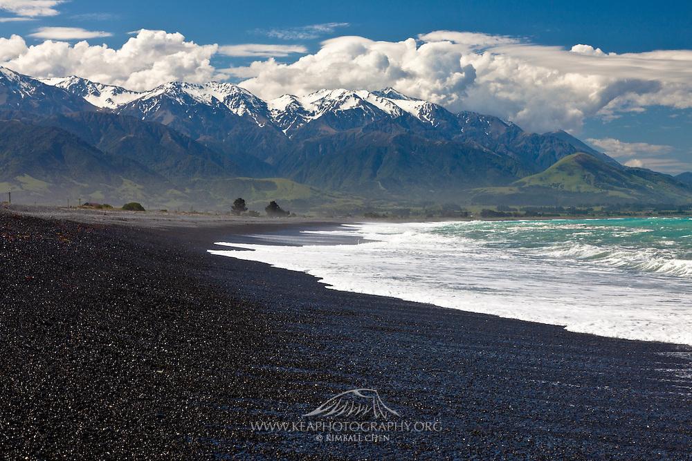 Kaikoura, Seaward Range, New Zealand