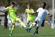 01.04.2017; Zuerich; Fussball Junioren - FCZ Uetliberg FE-14 - FCO Thurgau - Adnaan Abdi Hassan (Zuerich)<br /> (Steffen Schmidt/freshfocus)