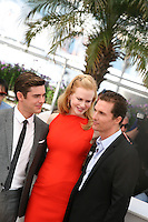 Zac Efron,  Nicole Kidman, Matthew Mcconaughey, at The Paperboy photocall at the 65th Cannes Film Festival France. Thursday 24th May 2012 in Cannes Film Festival, France.