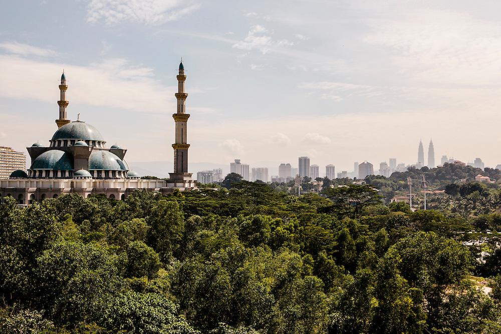 Views of Kuala Lumpur from Galeri Chandon in Publika Mall