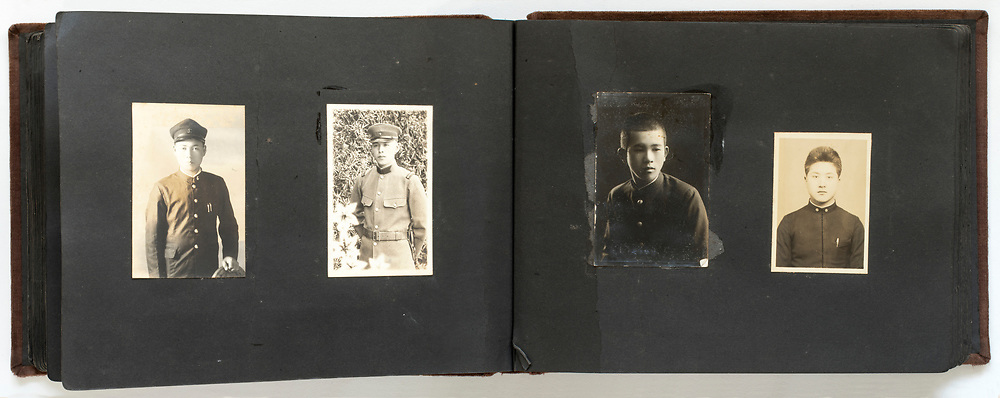family photo album Japan 1930s through 1960s