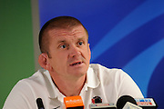 Assistant Coach Graham Rowntree of England, during an England Press Conference at Southern Cross Hotel in Dunedin, New Zealand. IRB Rugby World Cup 2011. Tuesday 6 September 2011. New Zealand. Photo: Richard Hood/photosport.co.nz