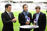Dimitri YACHVILI / Morgan PARRA / Camille LOPEZ - 04.04.2015 - Clermont / Northampton - 1/4Finale European Champions Cup<br />Photo : Jean Paul Thomas / Icon Sport