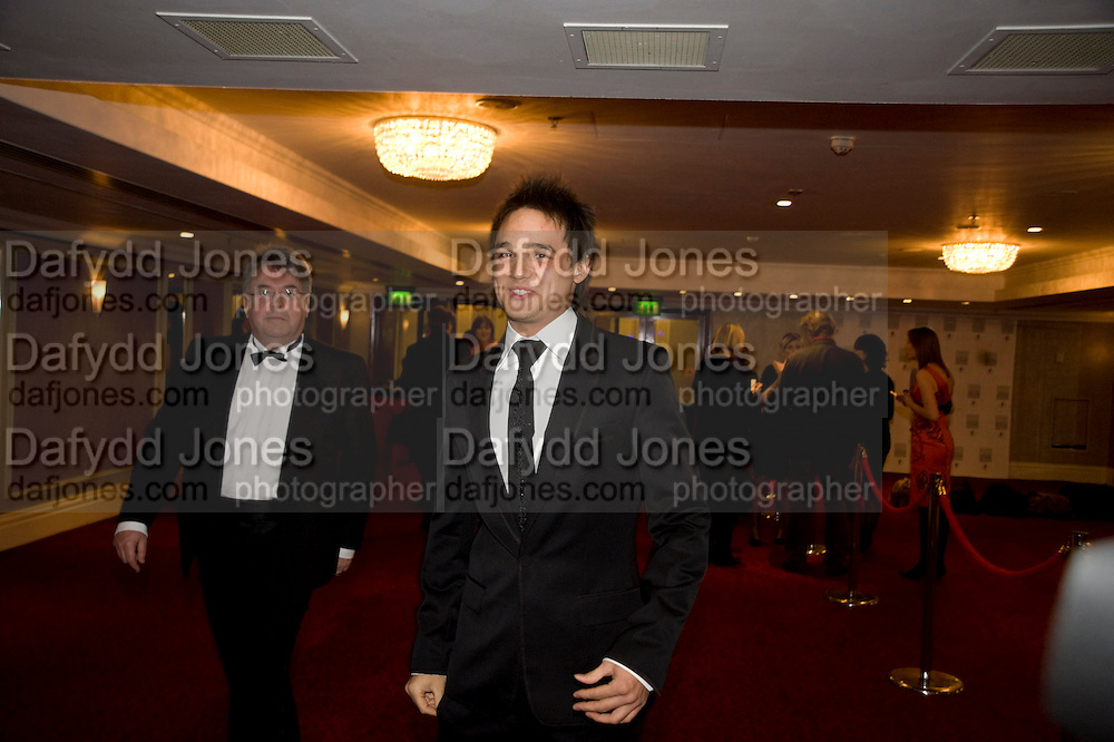 GARETH GATES, The Laurence Olivier Awards, The Grosvenor House Hotel. Park Lane. London. 8 March 2009 *** Local Caption *** -DO NOT ARCHIVE -Copyright Photograph by Dafydd Jones. 248 Clapham Rd. London SW9 0PZ. Tel 0207 820 0771. www.dafjones.com<br /> GARETH GATES, The Laurence Olivier Awards, The Grosvenor House Hotel. Park Lane. London. 8 March 2009