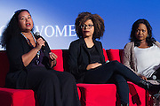 Tiffany Smith-Anoa'I, SVP, Entertainment Diversity, CBS Corporation, Brittany Turner, VP Digital Video, Adaptive Studios, and Wendy Calhoun, Producer