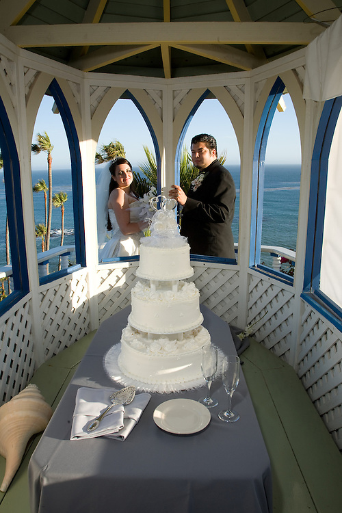 Wedding and reception of William J. Clearihue and Annalisa Piraino on June 30, 2007 at the Cypress Sea Cove, Malibu, California.