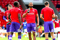 Rotherham United players warm up - Mandatory by-line: Ryan Crockett/JMP - 07/09/2019 - FOOTBALL - The Keepmoat Stadium - Doncaster, England - Doncaster Rovers v Rotherham United - Sky Bet League One