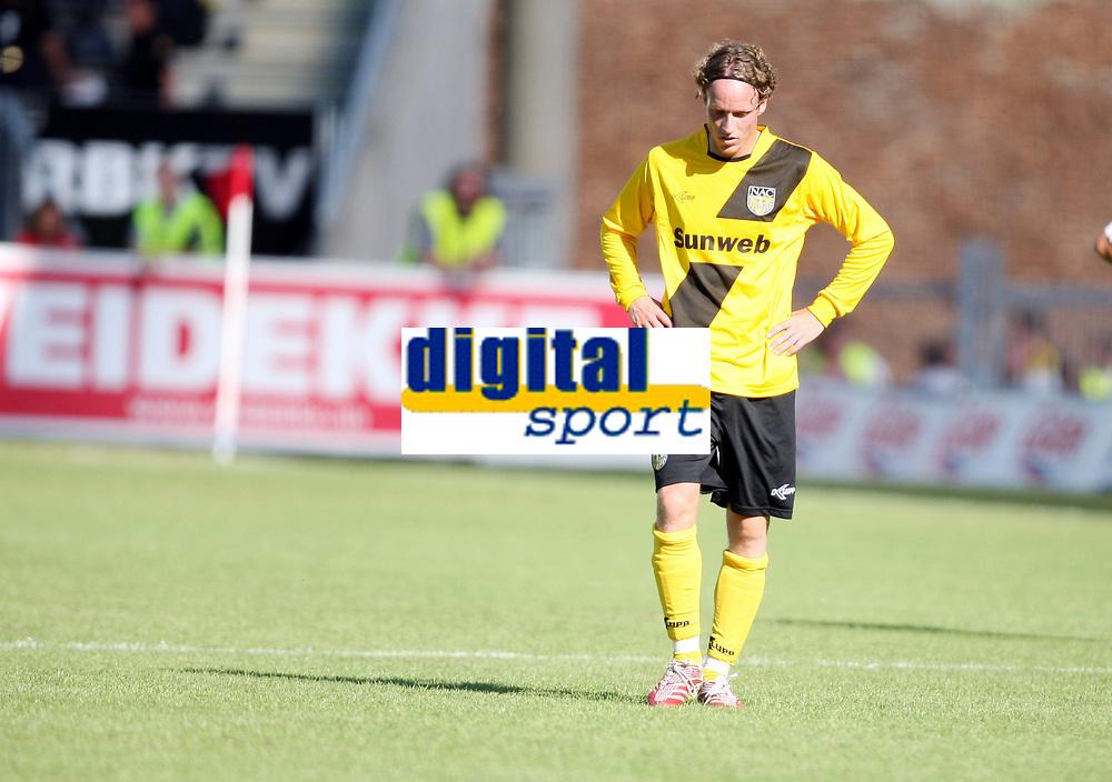 Fotball ,  27. juli 2008 ,  Intertoto cup , Rosenborg - NAC Breda 2-0<br /> Ron Stam , Breda