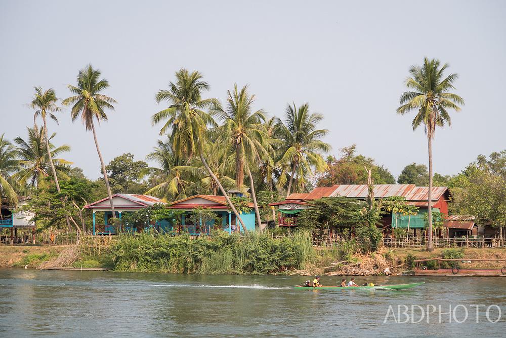 4000 islands Si Phan Don Champasak Southern Laos on the Mekhong River