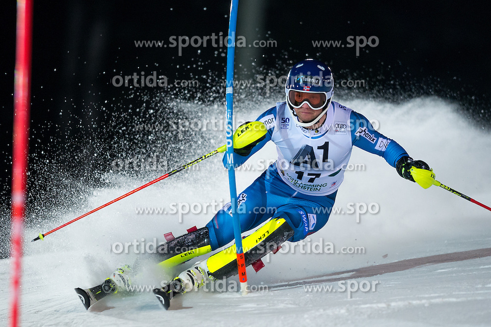 Jonathan Nordbotten (NOR) during the 7th Mens' Slalom of Audi FIS Ski World Cup 2016/17, on January 24, 2017 at the Planai in Schladming, Austria. Photo by Martin Metelko / Sportida