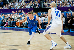 Martin Hermannsson of Iceland during basketball match between National Teams of Finland and Iceland at Day 7 of the FIBA EuroBasket 2017 at Hartwall Arena in Helsinki, Finland on September 6, 2017. Photo by Vid Ponikvar / Sportida