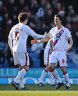 London - Friday, December 26th, 2008: Jose Fonte of Crystal Palace  celebrates his 1st goal against Norwich City during the Coca Cola Championship match at Selhurst Park, London. (Pic by Alex Broadway/Focus Images)