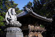 Temple number 23, Hotsumisaki-ji (最御崎寺) in Muroto,	Kōchi Prefectur, Japan<br /> The Shikoku Pilgrimage, 88 temples associated with the Buddhist monk Kukai (Kobo Daishi) on the island of Shikoku in Japan.