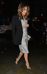 Cheryl Fernandez-Versini attends the Gareth Pugh show at Fashion Scout during London Fashion Week Autumn/Winter 2016/17 at Freemasons' Hall in London, UK. 20/02/2016<br />BYLINE MUST READ : GOTCHAIMAGES.COM<br /><br />Copyright by © Gotcha Images Ltd. All rights reserved.<br />Usage of this image is conditional upon the acceptance <br />of Gotcha Images Ltd, terms and conditions available at<br />www.gotchaimages.com